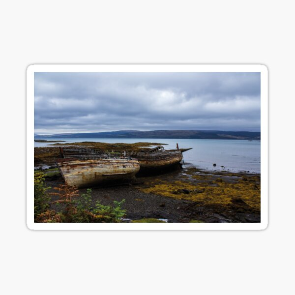 Shipwrecked on the Isle of Mull Sticker