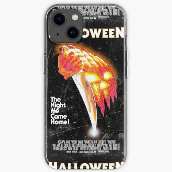 Affiche d'Halloween (Michael Myers) Coque souple iPhone