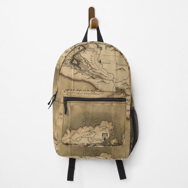 Skyrim map  Backpack