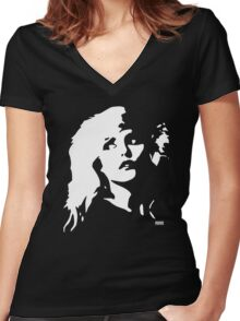Blondie Women's Fitted V-Neck T-Shirt