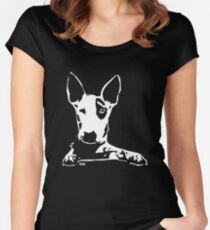 Bull Terrier Women's Fitted Scoop T-Shirt