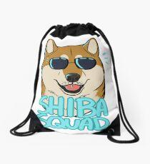 SHIBA SQUAD (red) Drawstring Bag