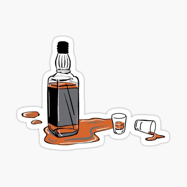 Whisky Jack Daniels Sticker