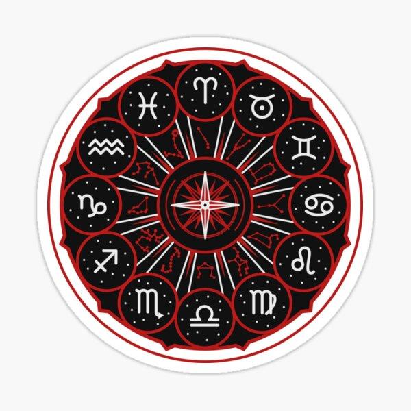 Zodiac Wheel Sticker