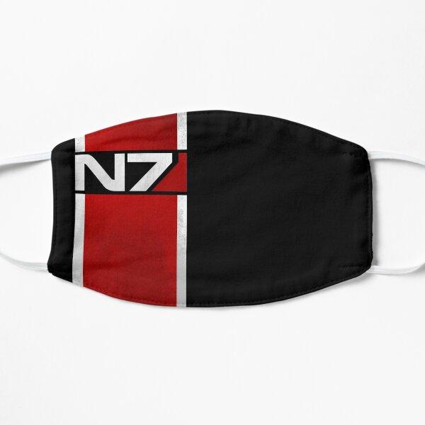 Mass Effect Vertical N7 Flat Mask