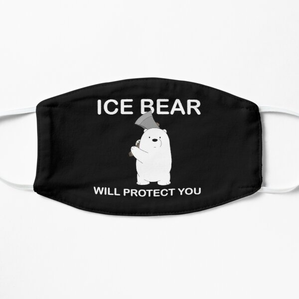 We Bare Bears™ Ice Bear will protect you Small Mask