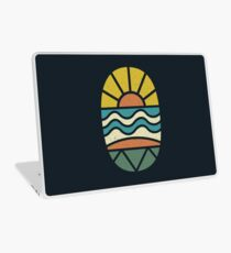 Lass uns surfen gehen Laptop Folie