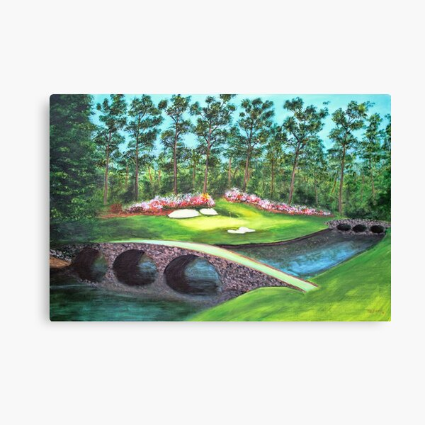 12 Hole Augusta National Canvas Print