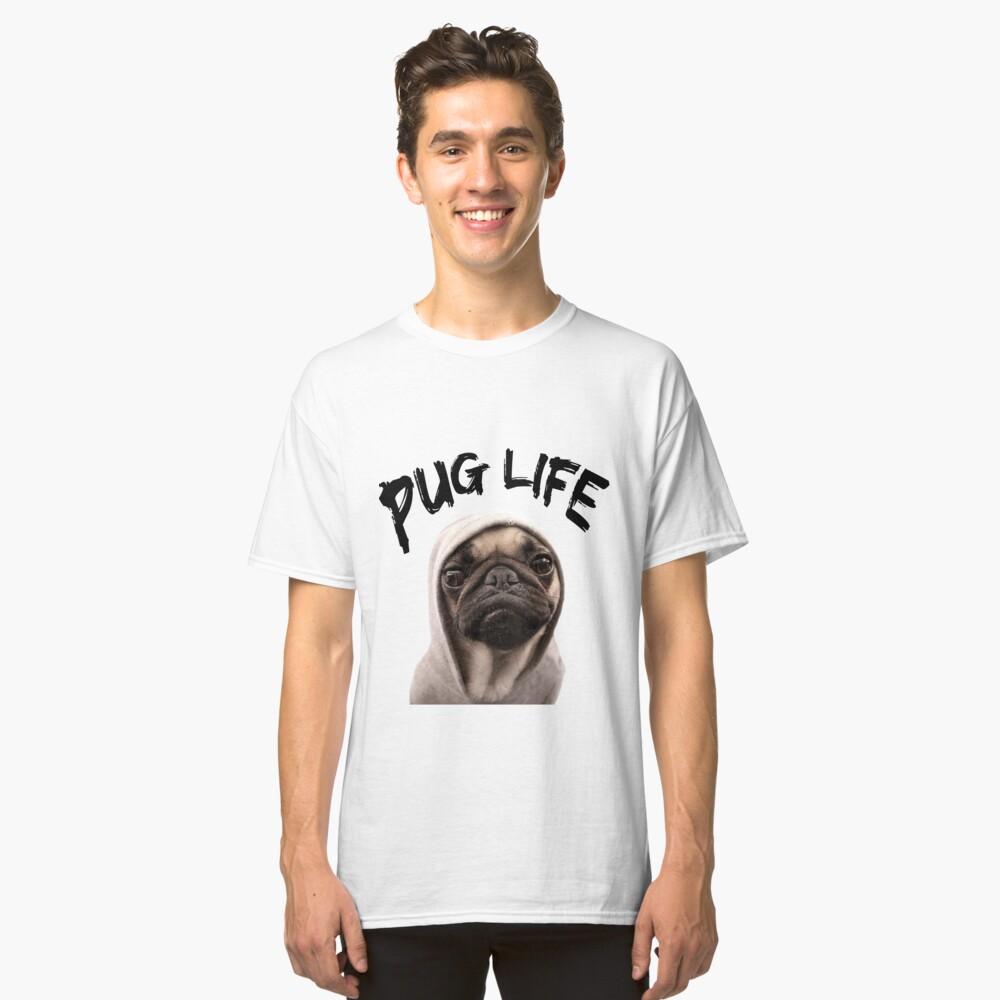 Vida Pug Camiseta clásica