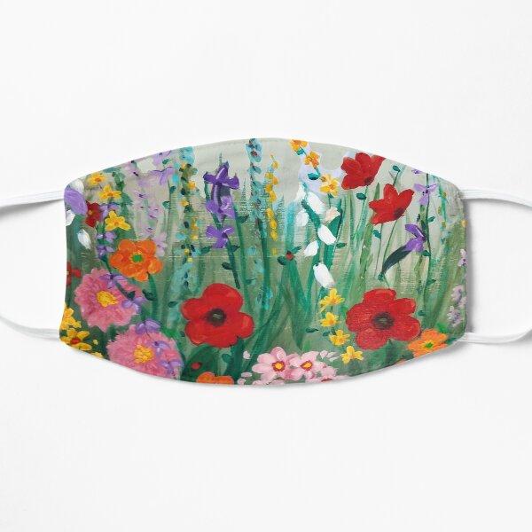 Flower Field  Flat Mask