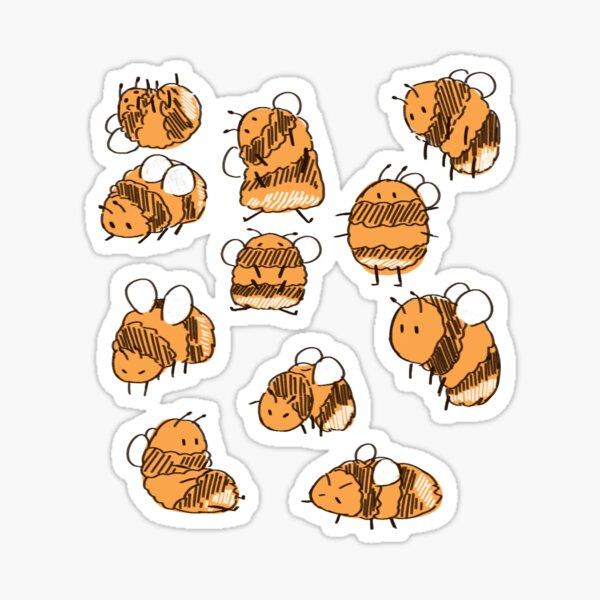 Bumblebees Sticker