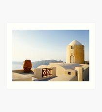 Desert House Architecture Fine Art Photography 0034 Art Print