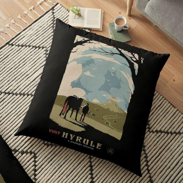 visit hyrule Floor Pillow