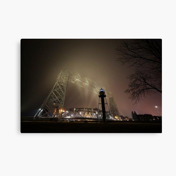 Foggy Bridge #1 Canvas Print