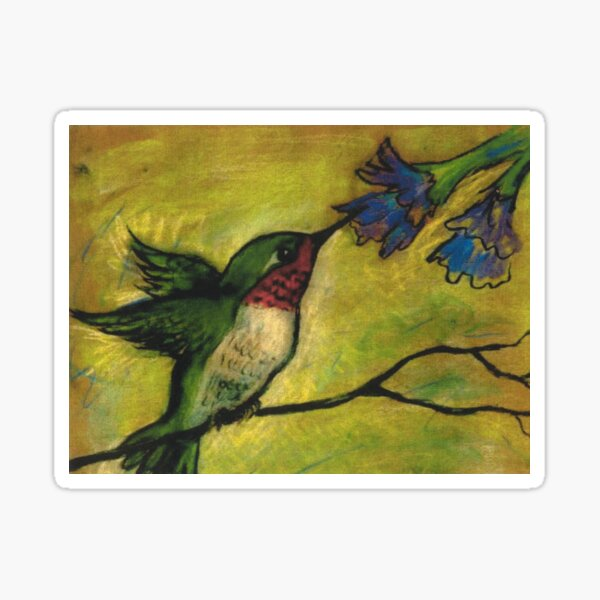 Hummingbird Heaven Sticker