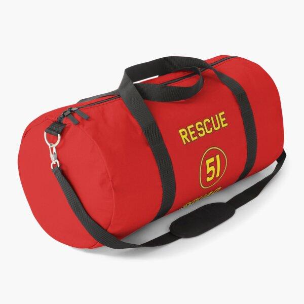 Emergency Squad 51 Rear of Truck Reproduction Logo Duffle Bag
