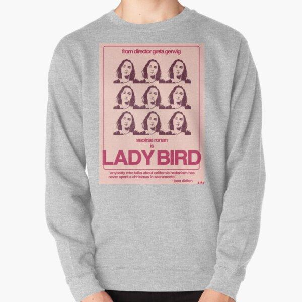 Lady Bird Poster Pullover Sweatshirt