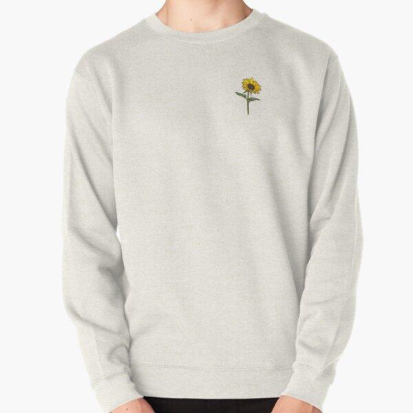 Little Aesthetic Sunflower Pullover Sweatshirt