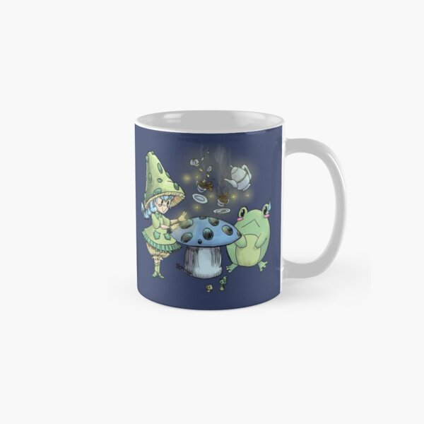 A Mushroom Tea Party Classic Mug