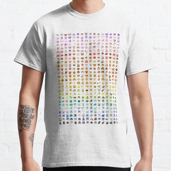 Animal Crossing Villager Rainbow Camiseta clásica