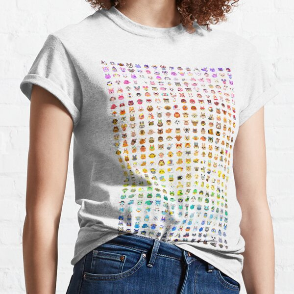 Animal Crossing Villager Rainbow  Classic T-Shirt