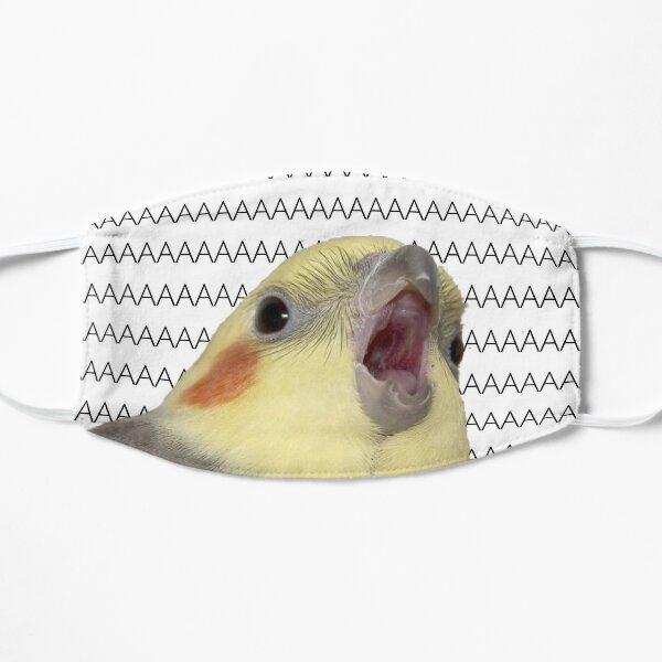 Cockatiel Scream Flat Mask