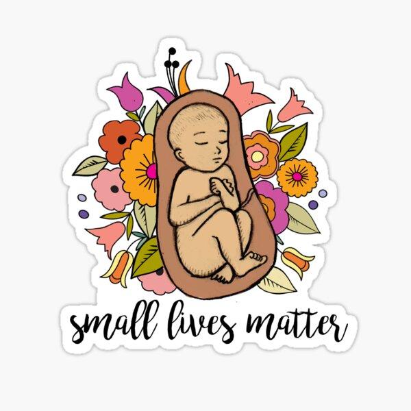Small Lives Matter Sticker