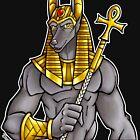 Anubis Egyptian God  by cybercat