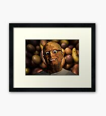 The aPeel of Mr Potato Head Framed Print