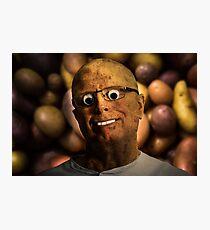 The aPeel of Mr Potato Head Photographic Print