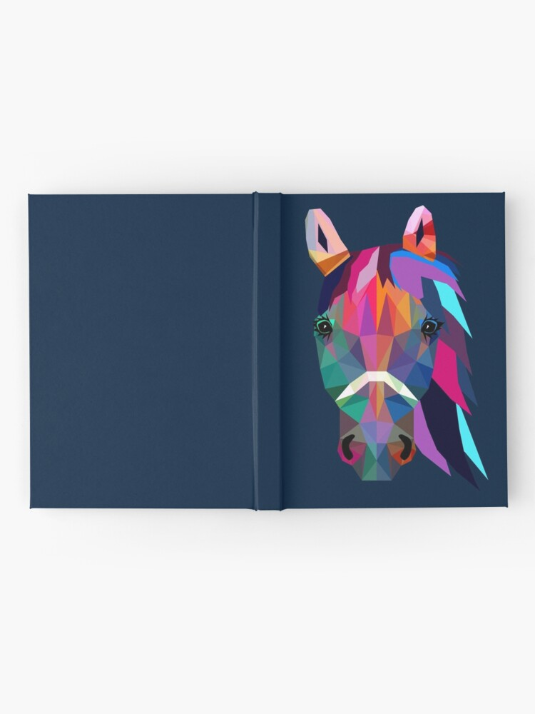 Alternate view of horse Hardcover Journal