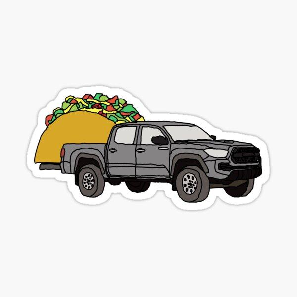 Toyota Tacoma Hauling a Taco 4x4 4wd Truck Wheelin Tundra 2021 TRD  Sticker