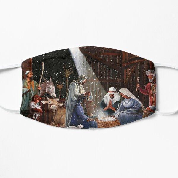 La Nativité Masque sans plis