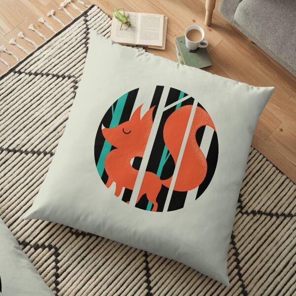 Proud Forest Fox Floor Pillow