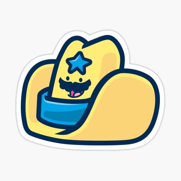 Oversized Foam Cowboy Hat Sticker