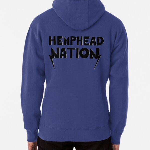 Hemphead Nation Shirt - White Pullover Hoodie