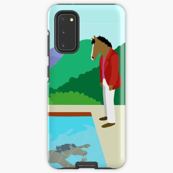 Minimal Horseman Samsung Galaxy Tough Case