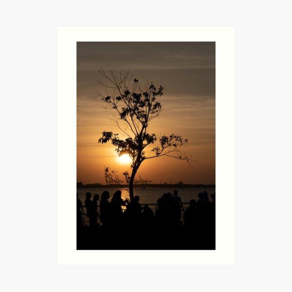 Tamsui Sunset Art Print