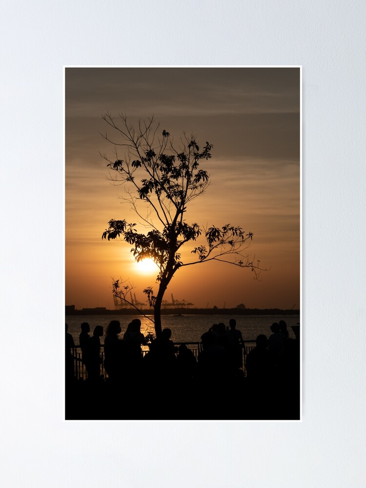 Alternate view of Tamsui Sunset Poster