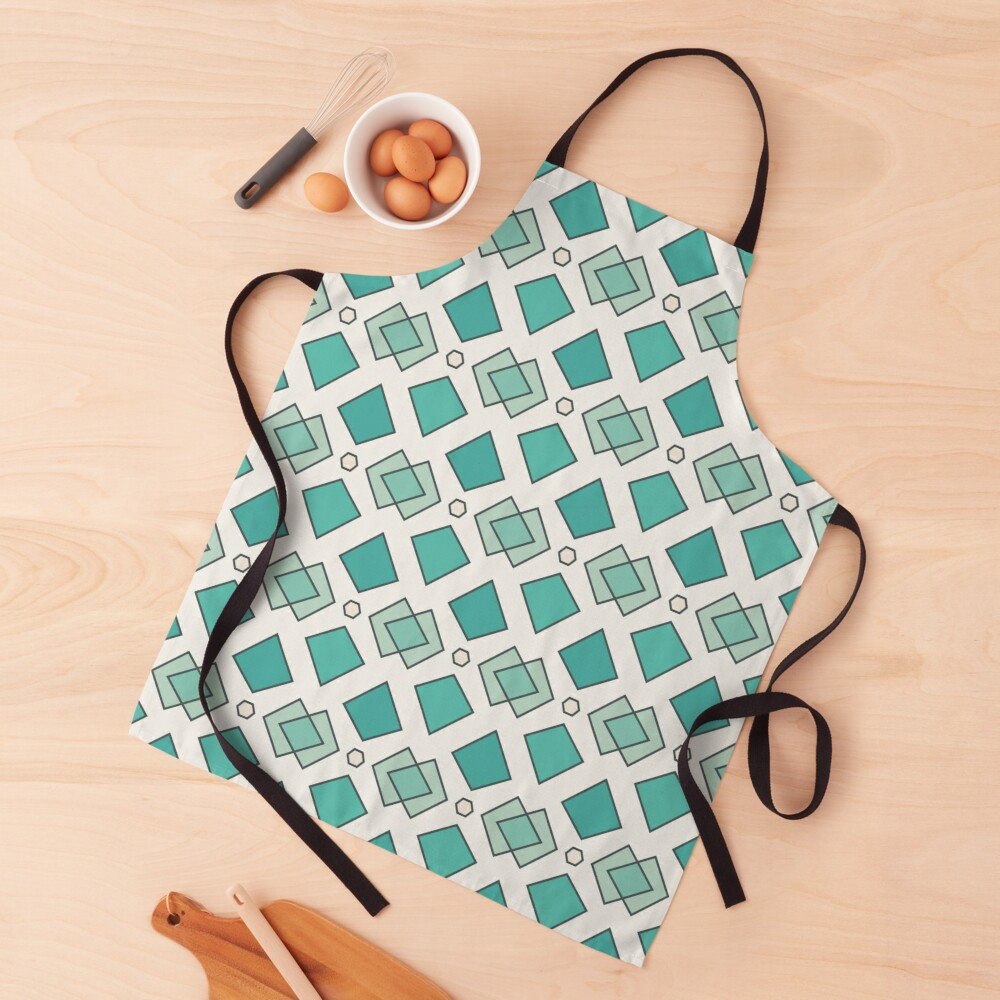 Abstract pattern Apron