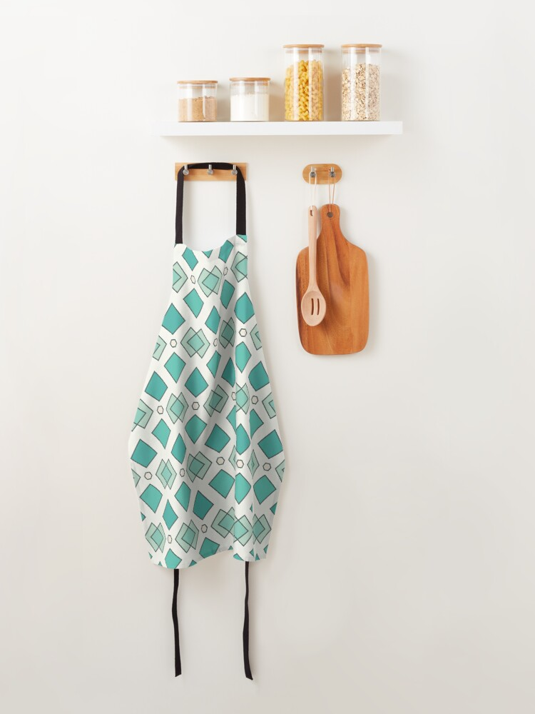 Alternate view of Abstract pattern Apron
