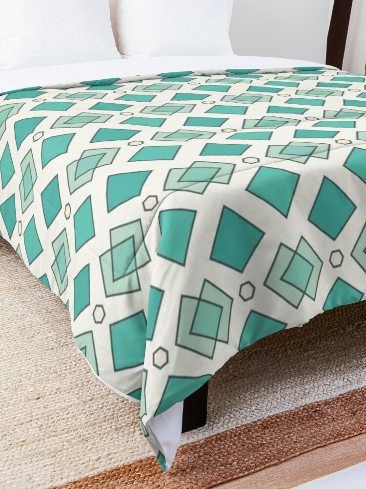 Alternate view of Abstract pattern Comforter