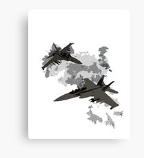 War Jets Canvas Print