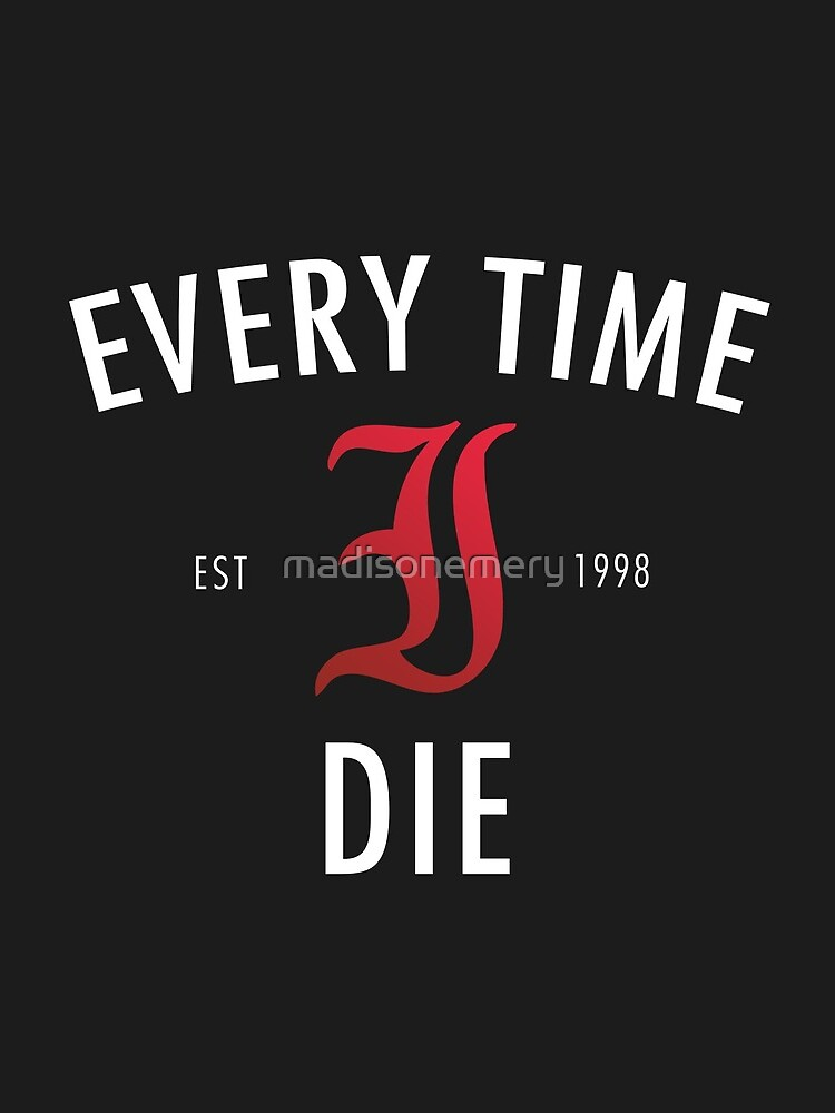 Every Time I Die 'Hot Damn' Shirt by madisonemery