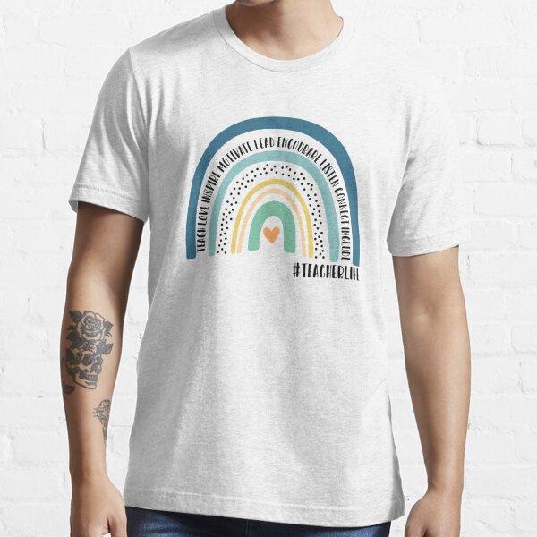 Teacher life rainbow TTA Essential T-Shirt