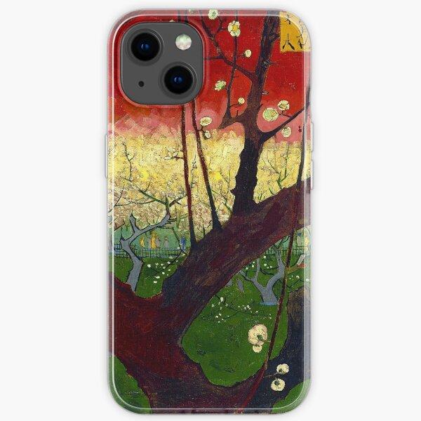 Flowering Plum Tree (After Hiroshige) - Vincent Van Gogh iPhone Soft Case