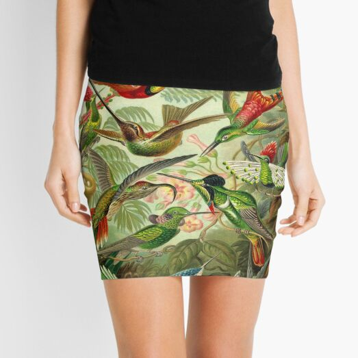 Colibri - Ernst Haeckel Mini Skirt