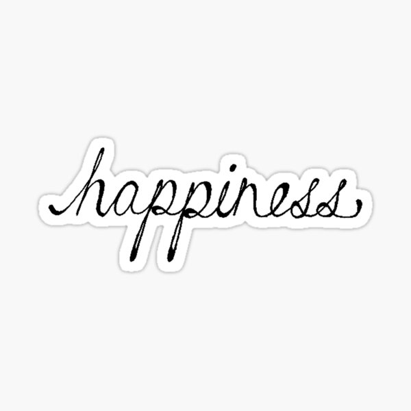Happiness Sticker