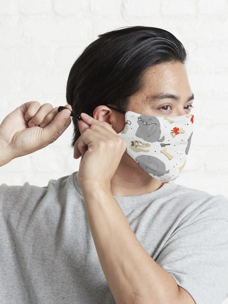 Alternative Ansicht von Archaeology pups! Maske