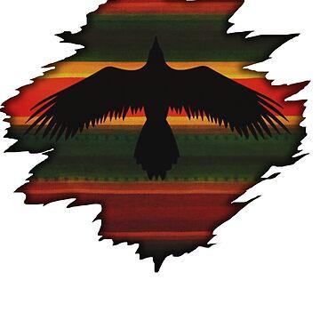Rising Raven by DanJohnDesign